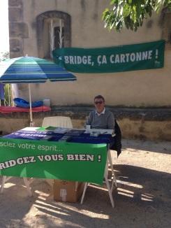 Photo Club bridge de Rognes au forum des Associations 2018
